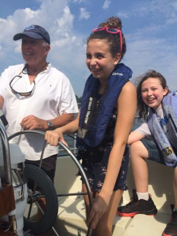 Sailing the Shrewsbury with the crew raising awareness for dyslexia